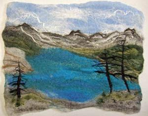 Moraine Lake - Felt