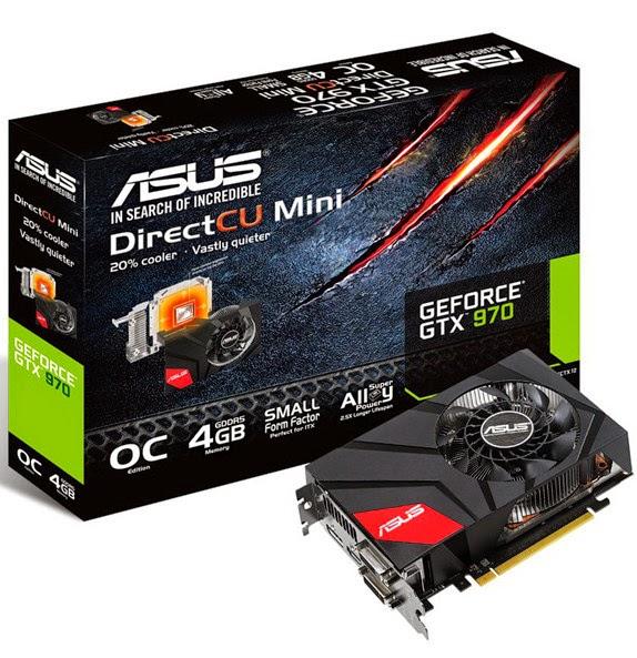 Chính thức ra mắt ASUS GeForce GTX 970 DirectCU Mini - 55818