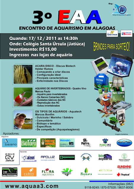3° Encontro de Aquarismo em Alagoas