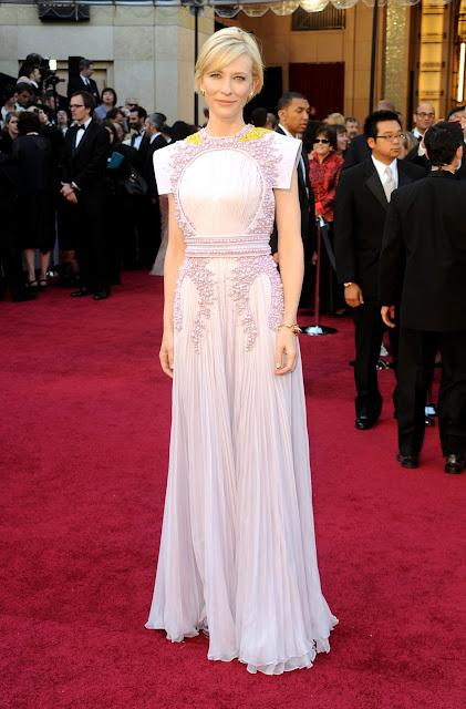 Cate Blanchett Givenchy Oscars 2011