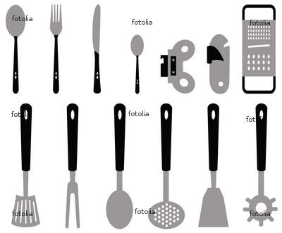 Gastronomia el fuego la cocina areas y equipos de cocina for Cucharones de cocina