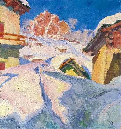 Giovanni Giacometti - Capolago in Winter