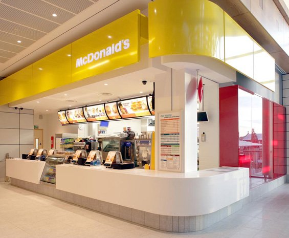 Sensi blog mc donalds flagship stores for Mcdonalds exterior design