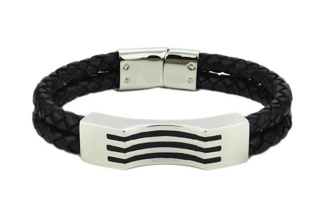 BraceletE 1 - Genuine Leather Bracelets and Keychains