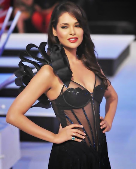 Esha Gupta Hot Bikini Wallpapers
