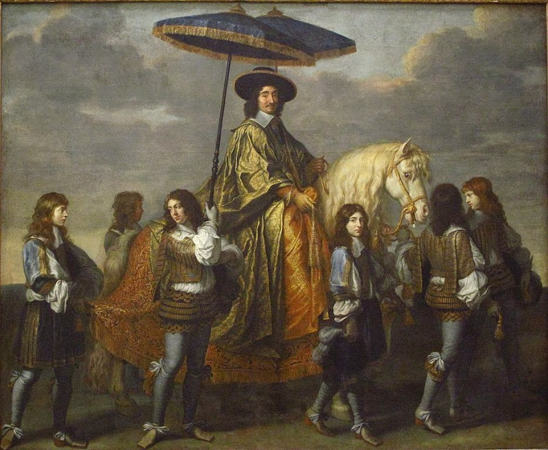 Charles Le Brun - Chancellor Séguier and his suite, ca. 1670
