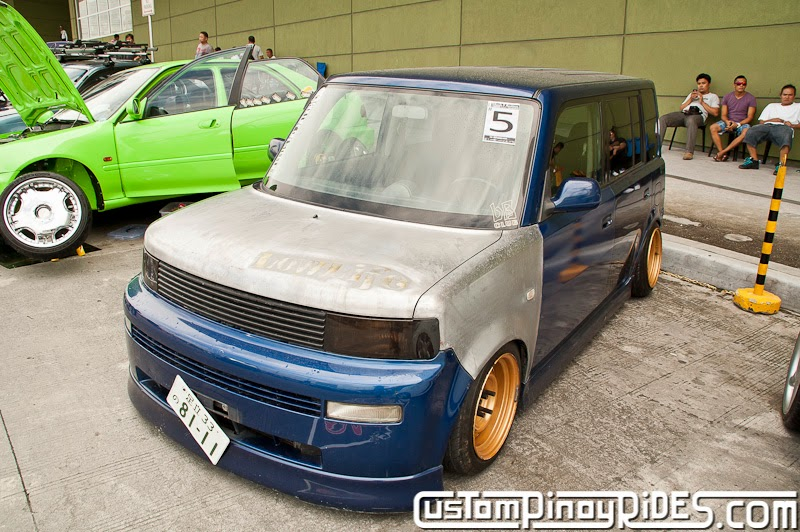 Rat Rod Style Toyota bB Car Photography Manila Philippines Custom Pinoy Rides pic2
