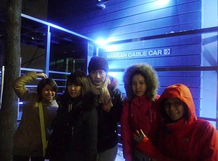 首爾自由行-南山纜車