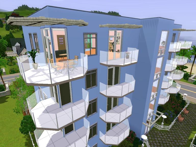 sims3 apartamentowiec