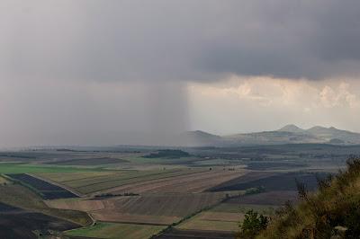 Počasí nám přálo, déšť nás minul o chlup :)
