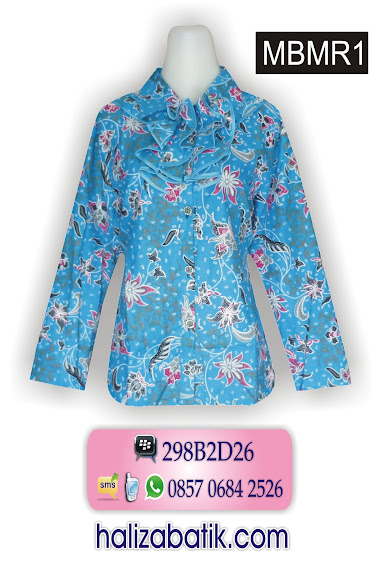 model baju kantor, baju online murah, grosir batik pekalongan