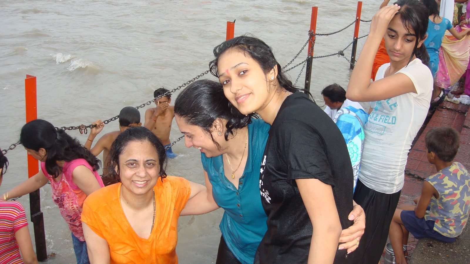 Style , Fashion And Desi Girls Wet Water Park-4515