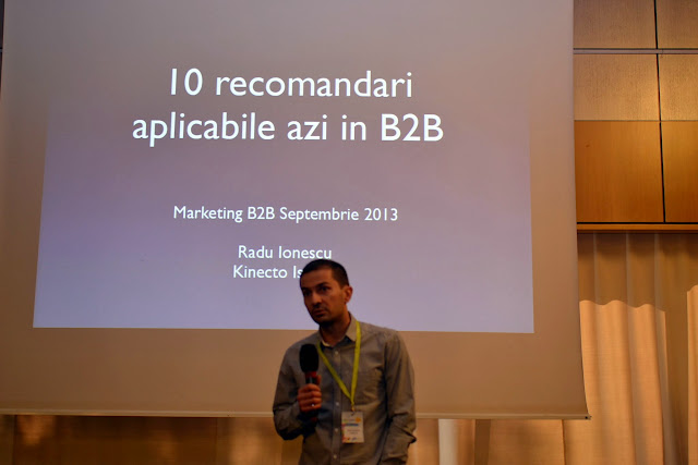 Radu Ionescu - Marketing B2B