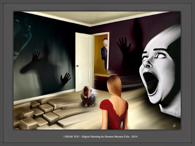 I HEAR YOU - Digital Painting by Simone Morana Cyla © 2014