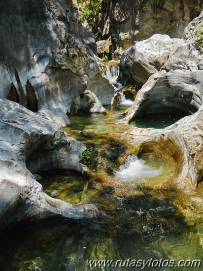 Barranco de Zarzalones bajo