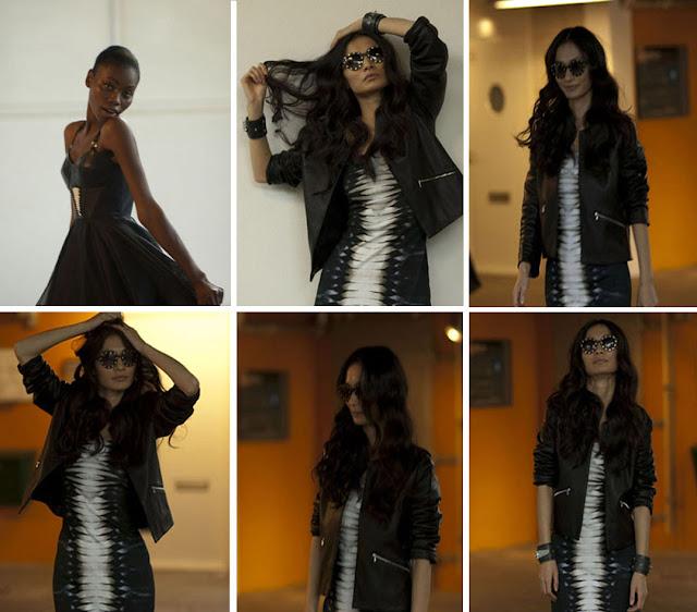 FELDER FELDER Joline dress b+w