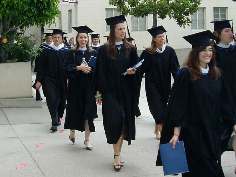 Some graduates from a few years ago