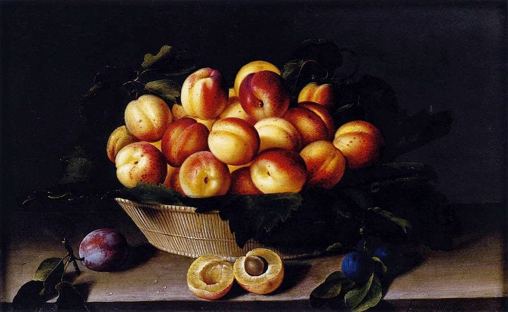 Louise Moillon - Basket of Apricots