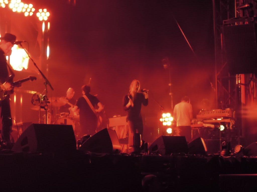 В Бильбао на концерт Radiohead