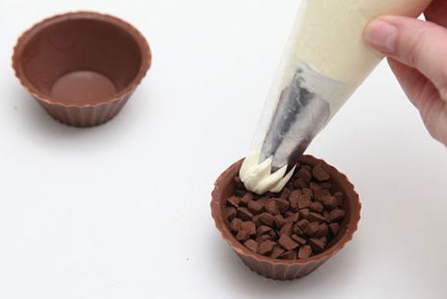 bico confeitar chocolate