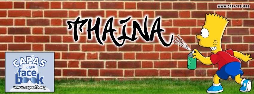 Capas para Facebook Thaina