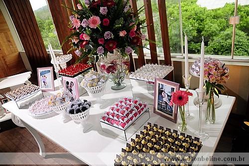 festa Ideias de decoração para casamento vermelho e branco