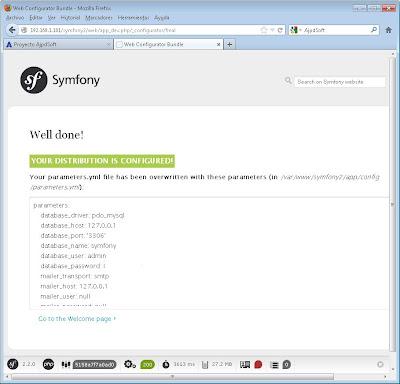 Instalar Symfony 2 con Composer