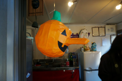 喫茶小坊一服のかぼちゃ天狗
