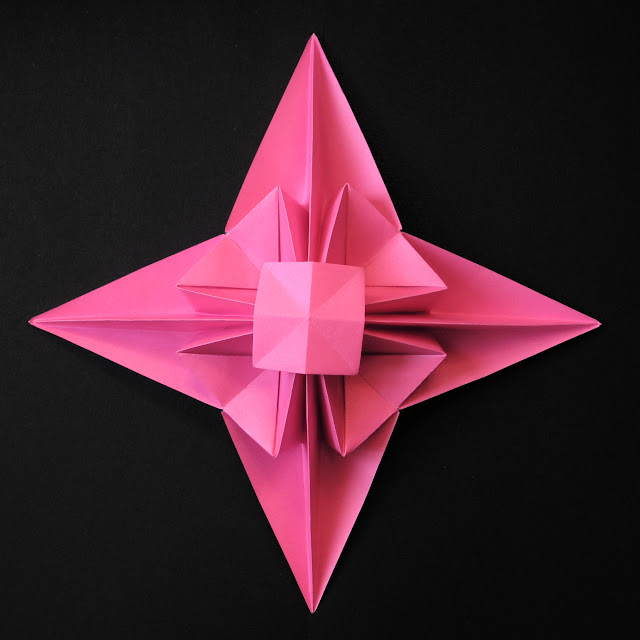 Origami foto 3D Star by Francesco Guarnieri