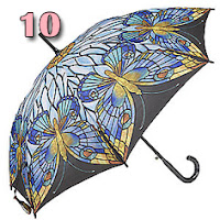guarda-chuva mosaico