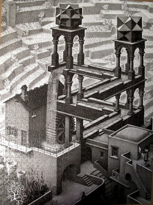 Escher, desene imposibile - Cascada