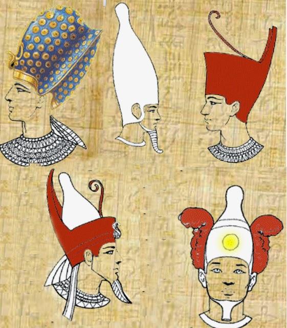Короны фараонов