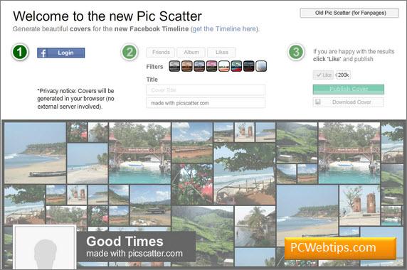 15 Sitios para Crear Portadas Personalizadas en Facebook | PCWebtips