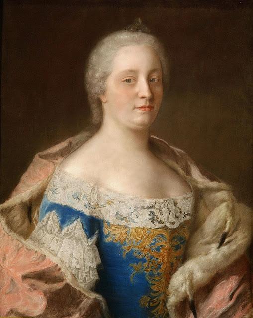 Jean-Etienne Liotard - Empress Maria Theresia of Austria.