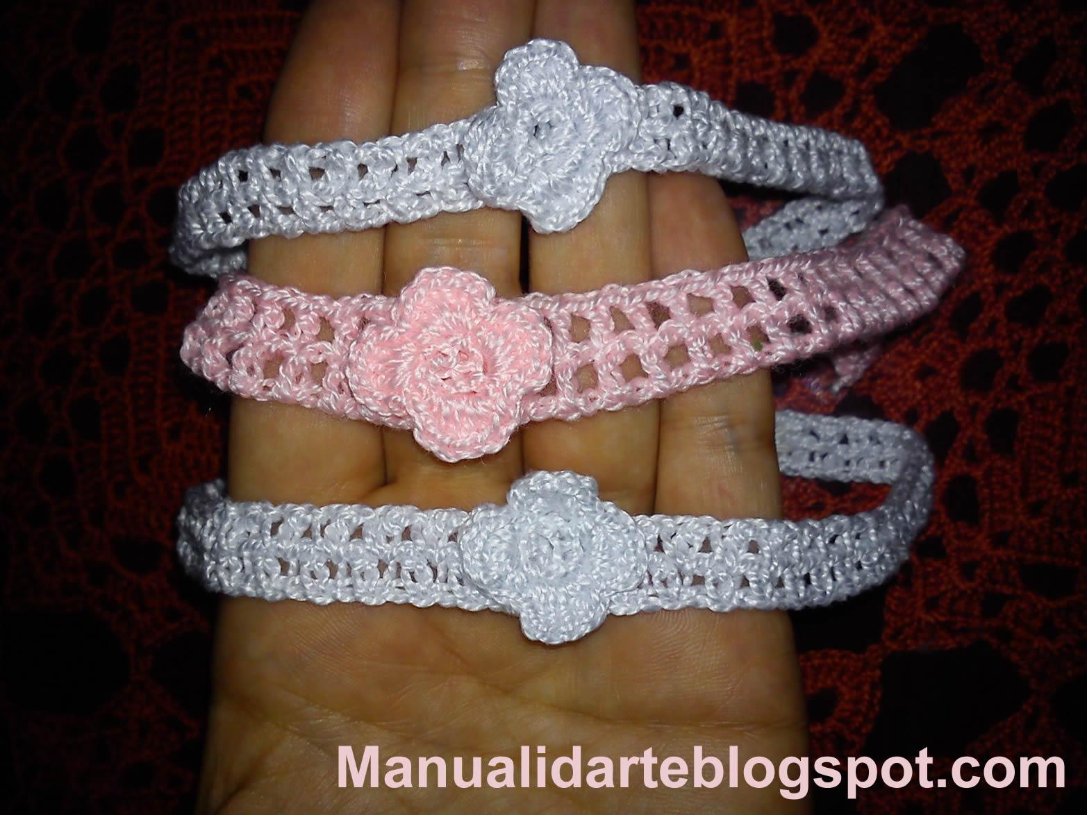 Diademas y bufandas tejidas - Diademas de ganchillo ...