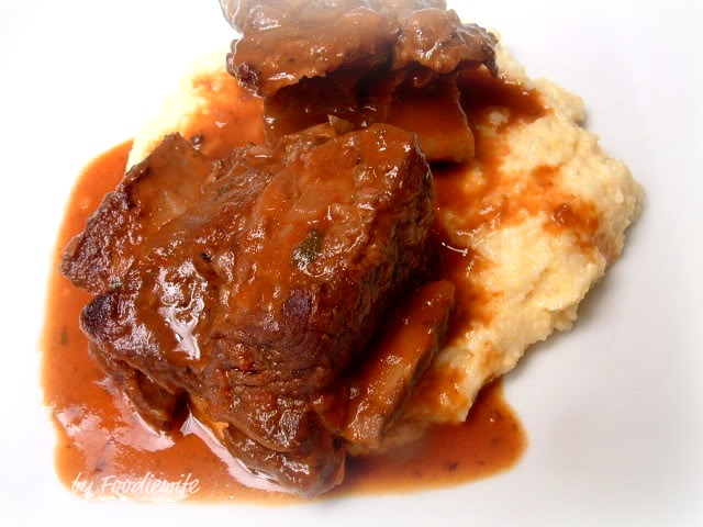 Feast for the Eyes: Red Wine Braised Short Ribs