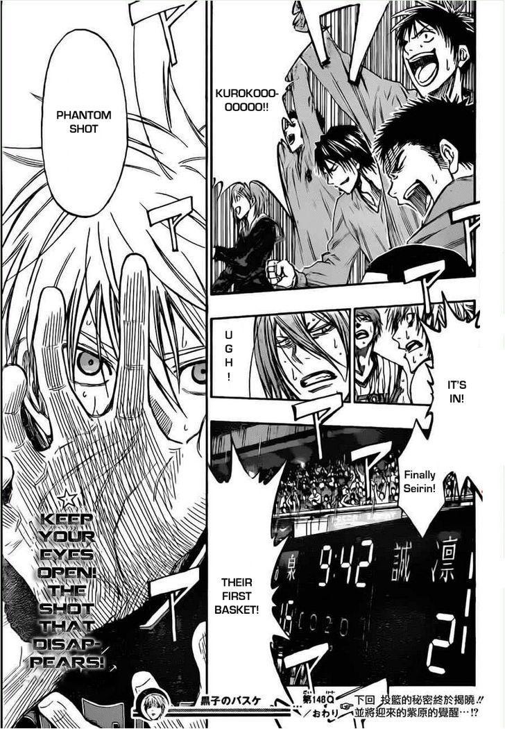 Kuroko no Basket Manga Chapter 148 - Image 19