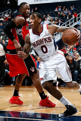 wearing brons nba lebron10 id terrence ross 02 Wearing Brons: Breds, Carbons, Canaries, Xmas, IDs and More!