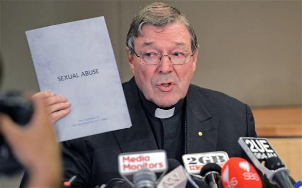 Cardenal Pell en noviembre, presentando el plan de respuesta de la Iglesia ROSLAN RAHMAN / AFP / Getty Images