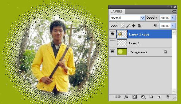 Membuat bingkai foto dengan photoshop