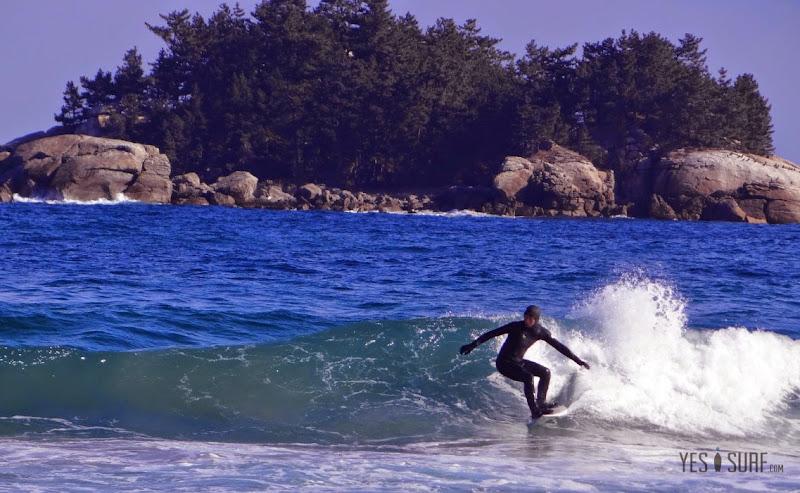겨울 서핑