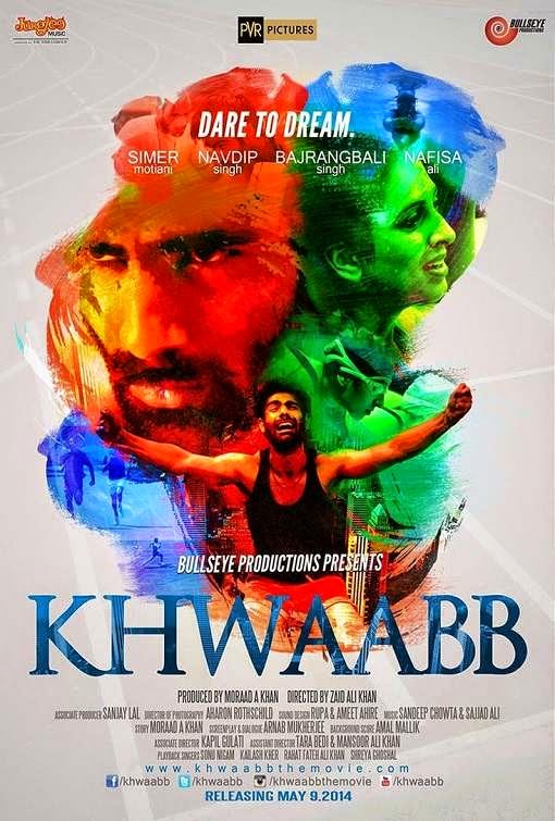 Poster Of Hindi Movie Khwaabb (2014) Free Download Full New Hindi Movie Watch Online At Alldownloads4u.Com
