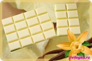 домашний белый шоколад