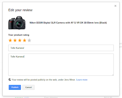 Google Shopping Review