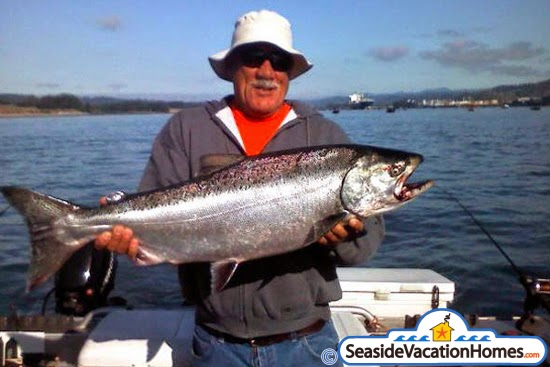 Fishing in seaside cannon beach gearhart and astoria for Seaside oregon fishing