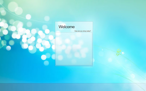 Windows 7 pantalla de inicio Windows logon v2