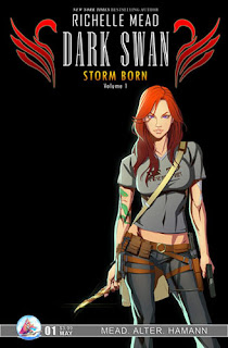 Storm Born, Dark Swan Series, by Richelle Mead - Graphic Novel Creative Team Announced - March 22, 2011
