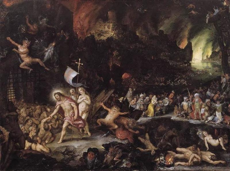 Hans Rottenhammer - Christ in Limbo. 1597