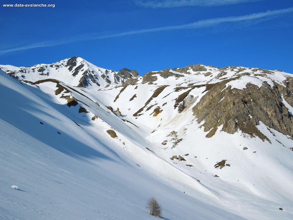 Avalanche Mont Thabor, secteur Pointe des Sarasins, Le Plan - Photo 1