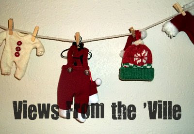 Christmas Craft - Santa's Clothes for the Clothesline